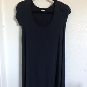 Navy Blue T-shirt dress